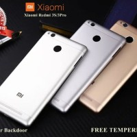 Xiaomi Redmi 3 Pro 3s Original Backdoor Case Casing Tutup Belakang