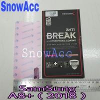 Anti Gores indoscreen Anti Break Samsung Galaxy A8 Plus 2018