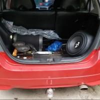 Audio Custom Box Sudut Honda Jazz Rs 2005 - 2015 - 2017 - Crv - Brv -