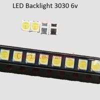 LED Backlight Samsung Toshiba Polytron LG TV 3030 6V 1.8W