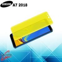 Samsung Galaxy A7 2018 AntiGores Tpu Pet Screen Guard Jelly Anti Shock