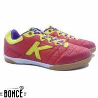 Sepatu Futsal Kelme Feline Evo IN Red Yellow Original