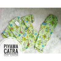ECER Piyama Katun Catra Size 4,6,8Junior/Besar Baju Tidur Pakaian Anak
