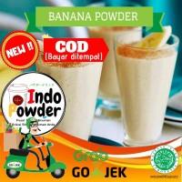 Banana Powder 1 Kg / Bubuk Minuman rasa pisang 1 Kg / Bubuk Pisang