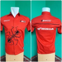 Kemeja Honda Moto Gp Marc Marquez 93 - Baju Seragam Otomotif