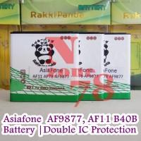 Baterai Asiafone AF9877 AF11 AF78 B40B Double IC Protection