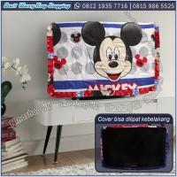 COVER TV, BANDO TV, TUTUP TV LED/LCD MOTIF MICKEY MICKEY