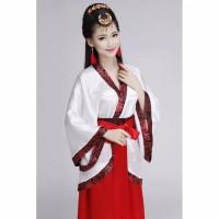 Baju Kuno China Cina Setelan Kucuang Hanfu Puteri Wanita Kerajaan Adat