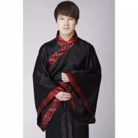 Pakaian Baju Kucuang Pria Laki Adat China Cina Tradisional Hanfu Kuno
