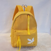 backpack Tas Ransel Backpack Anak Cewe Remaja Girl Fashion - Kuning