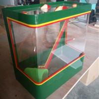 Aquarium Es Kelapa Kecil Acrylic Es Buah + Gayung Lion Star Lionstar