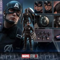 Hot Toys MMS 488 Marvel Studios The First 10 Years Captain AMERICA