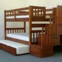 tempat tidur anak tingkat model A