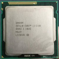 processsor intel core i3 2100 tray + Fan Intel ori