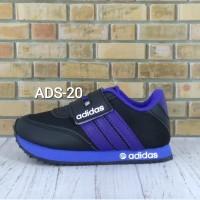 Sepatu Adidas Anak Hitam Biru - 24