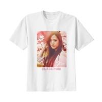 Kaos Baju Tshirt Kpop Korea Anak Blackpink Jisoo Combed 20s Putih