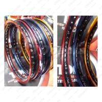 Velg TDR 2 Tone Set 1.40 & 1.60 Ring 17 Motor Sepasang Depan Belakang