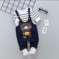 Baju Anak Laki laki Import   Setelan Jumpsuit Anak Balita Lucu