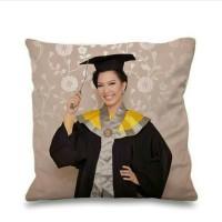 Bantal Sofa Custom Graduation size 40x40