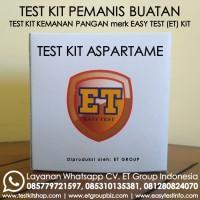 Test Kit Aspartam - Aspartame Teskit - Tes Uji Cepat Pemanis Buatan