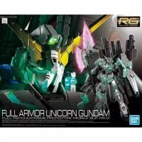 Bandai RG 1/144 Gundam Unicorn Fullarmor full armor FA