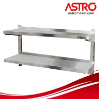 Double Adjustable Wall Shelves AWS-180