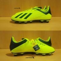 Adidas X 18.4 FG - Solar Yellow. Sepatu Bola Adidas Murah Sale Diskon.
