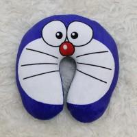Bantal Leher Doraemon Stand By Me Custom Lucu Pillow Travel Mobil/Bus