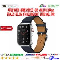 Apple Watch Hermes Series 4 44mm Stainless Indigo Single