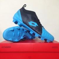 Sepatu Bola Lotto Energia FG Ocean Blue Black Original