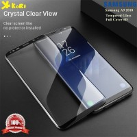 Tempered Glass Samsung A9 2018 5D Anti Gores Kaca Warna Full Screen