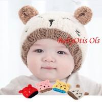 Topi Kupluk Bayi Rajut Topi Kupluk Anak Rajut Knitted Hat