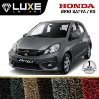 Karpet Mobil Luxe Honda Brio Satya/RS - Gold Series - Non Bagasi
