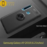 Case Samsung A9 2018 Autofocus Invisible Iring Soft Case