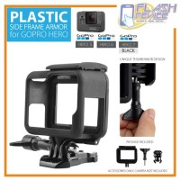 Housing Side Frame Plastic Bumper Case Support GoPro Hero 5/6/7 Black