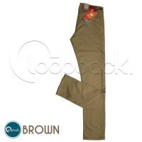 Celana Chino Slim Fit - Celana Panjang Pria Premium Brown