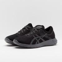Sepatu Asics Nitro Fuze 2 Sports Running Carbon Black Original 100%