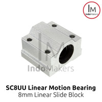 SC8UU Linear Motion Ball Bearing Slide Bushing / Bearing