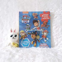 Buku Puzzle Anak - Nickelodeon Paw Patrol My First Puzzle Book isi 5