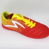 Kicosport Sepatu futsal specs Equinox in emperor red yellow original
