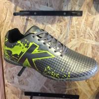 Kicosport sepatu futsal KELME star evo silver lime original new 2017