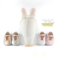Sepatu Bayi Antislip With Headband Pinkertone white Tamagoo Babyshoes