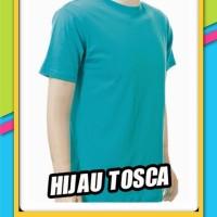 Kaos Polos Hijau Tosca - Kaos Polos Tosca - Kaos Tosca Polos