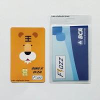 Kartu Flazz BCA Emoney Etoll Saldo 0 - Shio Macan