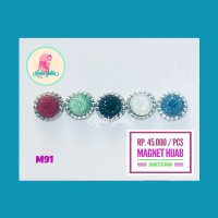 Kedai Jelita - Magnet Jilbab Hijab M91
