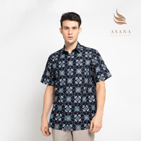 Asana Pagara Short Sleeves - Blue