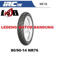 IRC 80/90-14 NR76 Ban Motor Matic Honda Yamaha Tubetype