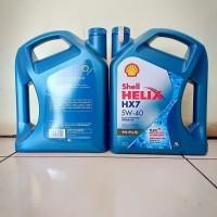Oli Mobil Shell Helix Hx7 SAE 5w40 Kemasan Galon