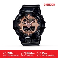 Casio G-Shock Jam Tangan Digital Analog Pria GA-700MMC-1ADR Black Ori