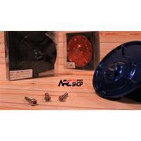 Fuel Cap Race Kit Black CBR250RR Tutup Tangki Bensin Keyless